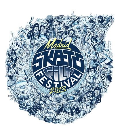 Madrid Skate Film Festival 2013 logo